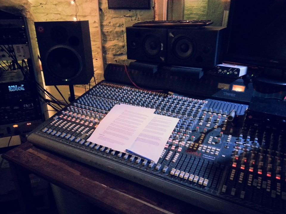 Some voice over recording work